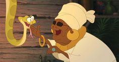 Küss den Frosch: Schlangenbeschwörerin