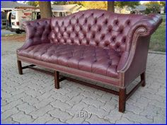 Like this couch. Vintage high back. Senior Photography Props, Tufted Leather Sofa, Eames, Mid-century Modern, Love Seat, Mid Century, Couch, Room, Furniture