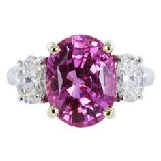 Engagement & Wedding Earnest Madagascar Pink Sapphire Gems Sterling Silver Ring Solitaire Engagement Jewelry Jewelry & Watches