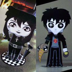 #Sandman Paper Toys | Tektonten Papercraft #Gaiman