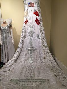Mardi Gras Queen's Train and Gown, Mobile Carnival Museum, Mobile AL