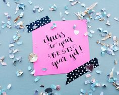 """""""Cheers to your best year yet!"""" Happy New Year! 