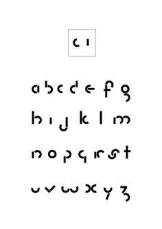 Typographie modulaire by Alexandre Rivault, via Behance