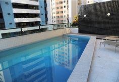 Piscina - Villa Espanha - 2 quartos com suíte - Pronto para morar na Pituba