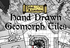 Inked Adventures » Blog Archive » Inked Adventures Hand Drawn Geomorph Tiles are now on sale
