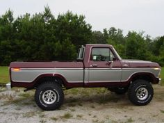 This was like my first truck I drove in high school; mine was solid burnt orange though. Called her The Beast... Great memories with that truck.