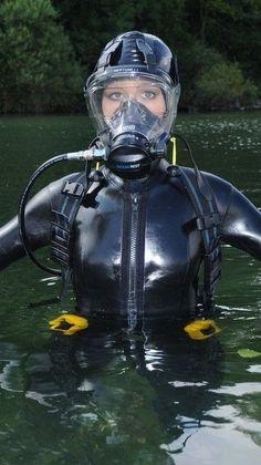 Princess Fatale wetsuit scuba water