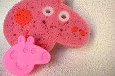 Kit de banho Peppa Pig - ideia bacana de lembrancinha para festa infantil no tema!