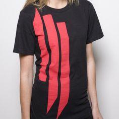 Skrillex Shirt // 'Ill' Logo Red.