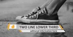 Buy Elegant Lower Thirds by varunreddyvfx on VideoHive. Single line lower third Two line . Three Logo, Lower Thirds, Second Line, After Effects Projects, Great Words, Documentaries, Elegant, Stylish, Business