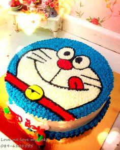 Doraemon cake ^^ Cake Home Delivery, Birthday Cake Delivery, Make Birthday Cake, Online Cake Delivery, Chocolate Tres Leches Cake, Eggless Chocolate Cake, Cake Decorating Designs, Cake Designs, Decorating Ideas