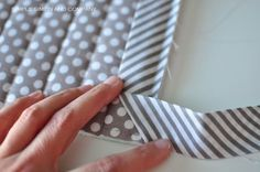 Quilted Potholders from Scraps {Quilt Binding Tutorial} - Simple Simon and Company                                                                                                                                                                                 More