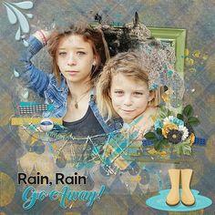 Let It Rain by Laurie's Scraps  Template  by Studio Dawn Inskip Photo Caroline