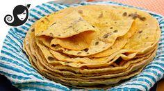 Sweet Potato Flatbread (Roti) | Oil-free + Yeast-free + Vegan/Vegetarian...