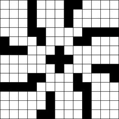 Crossword Puzzle Grid Library 13x13 Blocked Index