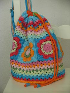 Ravelry: Antoinette06's Girls Bag