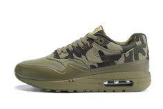 4b583583bde9 Buy 2018 Nike Air Max 1 Mc Sp Print Camo Olive Green Army Green Shoe