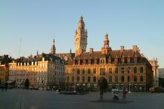 La Grand'Place de Lille et sa Vieille Bourse