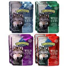 Blue Buffalo Trail Toppers Wild Cuts Variety Pack - 4 Flavors (8 Pouches) -- Remarkable product available now. : Dog treats