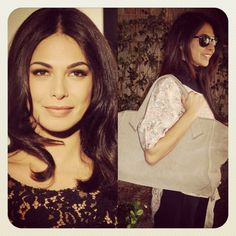 the MARIE bag & Moran Atias, knows as an Israeli actress and model ..
