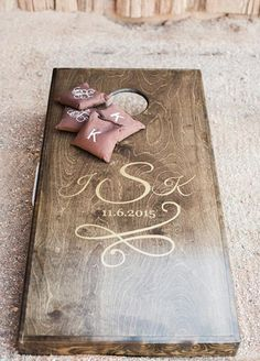 Wedding Gifts 11 Ideas That Will Transform Your Backyard Into The Best Wedding Ever - Bean bag toss game for an outdoorsy wedding - There are a thousand reasons to have a backyard wedding: they're intimate, cost-effective and about as personal as it gets! Summer Wedding, Dream Wedding, Wedding Day, Trendy Wedding, Chic Wedding, Wedding Pins, Wedding Details, Surprise Wedding, Gatsby Wedding