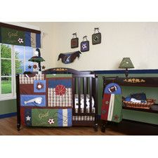 Boutique Classic Sport 13 Piece Crib Bedding Set