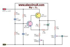 Telephone Amplifier Circuit Diagram Electronic Circuits