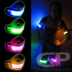 LED Glowing Arm Bands