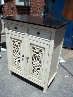 Nadeau Furniture Carved Cabinet V121