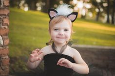 Check out this item in my Etsy shop https://www.etsy.com/listing/476690547/skunk-ears-headband-halloween-animal