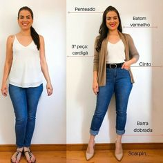 Source by casuales juvenil chaparritas Classy Outfits, Casual Outfits, Fashion Outfits, Curvy Fashion, Love Fashion, Casual Chic, Curvy Girl Outfits, Looks Plus Size, Inspiration Mode