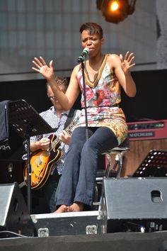 Kellylee Evans de la soul avec une pointe d'Afrique