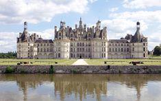 Castello di Chambord, Francia - E' il castello più grande di tutta la Loira,