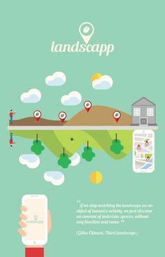 Landscapp UI Concept on Behance