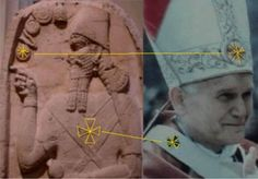 Not a coincidence.  What is the real meaning of these very, very ancient (and probably extraterrestrial) symbols, and why are they still so prominently used?