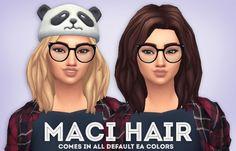 Maci Hair at Ivo-Sims via Sims 4 Updates