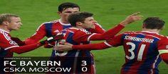 Bayern Munich Hajar CSKA Moskow Dengan Skor 3-0. Tampil dengan beberapa wajah baru, Bayern tetap menunjukkan performa berkelasnya. Dominasi bola