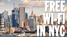 Free Wi-Fi in NYC