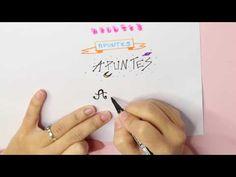 Haz títulos Bonitos y Fáciles para tus apuntes, agenda, asignaturas...♥ ...