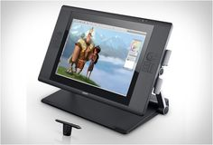 CINTIQ 24HD #touch #tablet by #Wacom.
