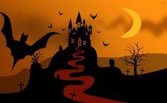 Haunted castle HD Wallpaper
