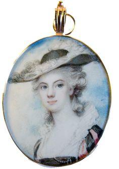 Ellison Fine Art | Stand B9 | A fine portrait of a young Lady by Richard Cosway, RA | LAPADA Art & Antiques Fair 2014, Berkeley Square