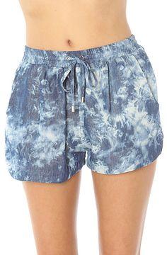 *LA Boutique Tie Dye Short in Blue : Miss KL #MissKL #MissKLCoachella