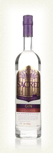 English Gin > Sacred Spirits Company Branded Gin > Sacred Pink Grapefruit Gin Sacred Pink Grapefruit Gin (70cl, 43.8%)