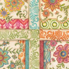 Ikat Floral- for iPod
