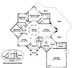 Best House Plans, House Floor Plans, Office Floor Plan, Plans Architecture, Architecture Drawings, Architecture Details, Floor Plan Drawing, Floor Framing, Contemporary Style Homes