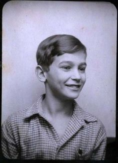 """In Anne Frank's Diary Anne called Peter Schiff her """"one true love."""" For more than 60 years there were no photographs known of Anne Frank's childhood sweetheart. The photo above was discovered when a childhood friend, Ernest Michaelis, now 82, came to realize that the childhood friend that gave him this photograph (before Michaelis had left Germany for Britain) was the 13-year-old boy Anne Frank wrote about in her diary.Taken 1939..discovered 2008"""