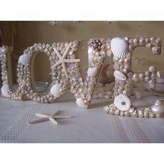 seashell decor   Pinned via Pinterest Mobile App