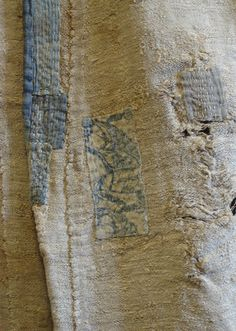 "A Rare and Beautiful Boro Okuso Kimono: Woven from Hemp ""Waste"" | Sri Threads"