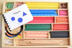 Montessori Geometric Sticks